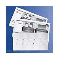 Sheet Fed 扫描仪清洁卡,采用华夫格技术