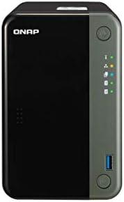 QNAP TS-253D-4G-US 2 Bay NAS,Intel Celeron Gemini Lake J4125 四核 2.0GHz 带 4GB DDR4 RAM