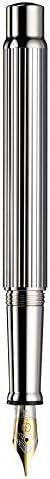 Otto Hutt 设计04 钢笔,钢笔尖(F),纯银/针刺穿孔