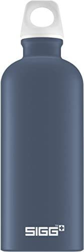 Sigg Lucid 午夜觸控,設計飲水瓶,0.6 升,鋁,不含BPA,深藍色