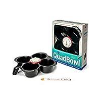 Teele Hair Products QuadBowl:四只*颜色混合碗,标签系统和计时器 — 多合一