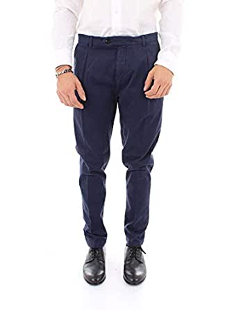 REPLAY 男人 M9601LBLU 蓝色 棉 裤子/意大利直邮【亚马逊海外卖家】