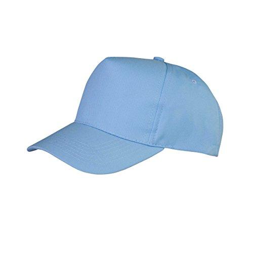 result core boston 成人纯色英伦风棒球帽 (均码) (天蓝色)