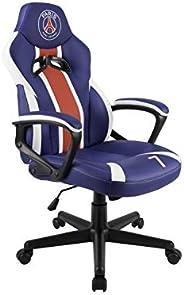 PSG - PARIS Saint Germain - Junior Gamer 座椅 - 游戏办公椅 - 官方许可 (PS4////)