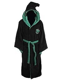 Harry Potter All Houses 成人羊毛连帽浴袍(均码) 黑色 One Size 124020501
