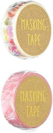 Masking 胶带15 樱花 松软心形 各4个 共8个装 MT15-014・001