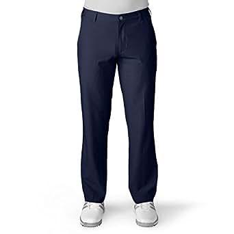 adidas golf男士休闲裤长裤纯色舒适透气简约LCB70 海外卖家直邮 Navy 34/34