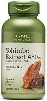GNC 健安喜 Herbal Plus 育亨宾提取物 450 毫克(100 粒胶囊)