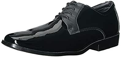 STACY ADAMS Alastair 男士燕尾服系带牛津鞋 黑色(Patent) 12 M US