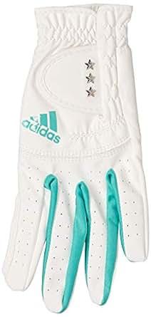 [阿迪达斯高尔夫] 女款 女款 TRI 单手套 女款 迪斯特 TRI 单手套 AWU16 白色 日本 S (日本サイズS相当)