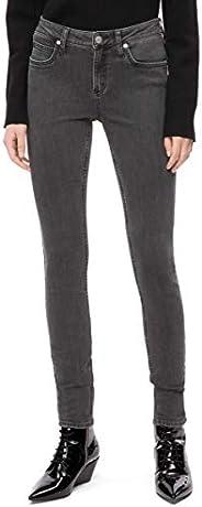 Calvin Klein 女士 CKJ 011 中腰緊身牛仔褲