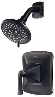 Pfister Selia Tuscan 青铜单把手水感淋浴水龙头,多功能淋浴头