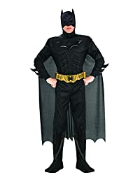 Rubie's 男士蝙蝠侠《黑暗骑士崛起》服装