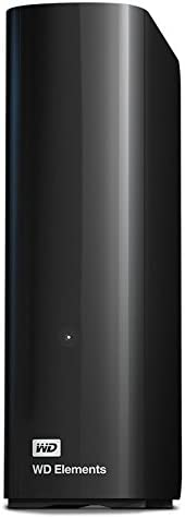 Western Digital Elements USB 3.0 桌面硬盘 黑色 8TB