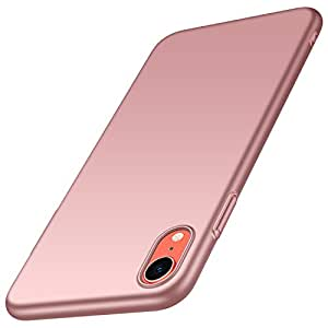 Almiao for iPhone XR 手机壳,[超薄] 超薄保护壳保护壳,iPhone XR * Smooth Pink