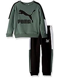 Puma 男童套头羊毛套装