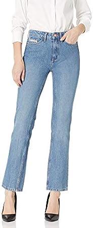 Calvin Klein 卡爾文·克萊恩 女式 直筒牛仔褲