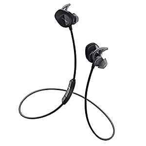 Bose SoundSport 无线耳机-黑色 wireless 耳塞式蓝牙耳麦 运动耳机 智能耳机 761529-0010