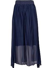 M 意大利制造 - 女式波西米亚长裙