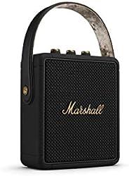 Marshall 马歇尔 Stockwell II 便携式蓝牙音箱 黑色&黄铜