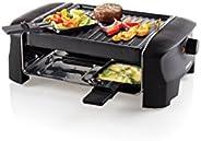 Princess 聚会烧烤架 至多可容纳 4 人 配有 4 个平底锅和可调恒温器 162800