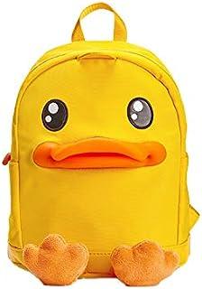 适合男孩和女孩的幼儿背包,学前背包鸭子包 Duck Feet-yellow