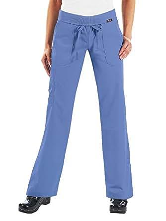 Koi 女士摩根超舒适瑜伽风格工装磨砂裤带罗纹针织腰带 True Ceil Medium