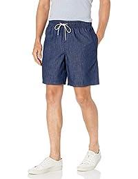 Amazon Essentials 男士 8 英寸内缝抽绳休闲短裤