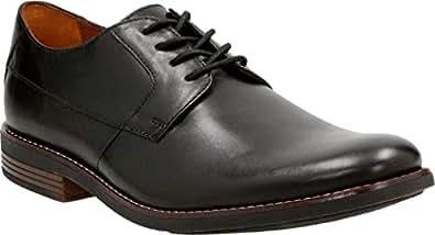 Clarks 男 正装鞋 261231487070 黑色 41  Becken Plain/贝肯系带