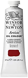 Winsor & Newton Artists Oil Color Paint Tube, 37ml, Alizarin Crimson