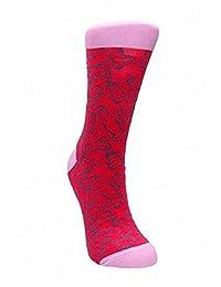 性感袜子由 Shots 印花的趣味袜子 - 36-41,35 克
