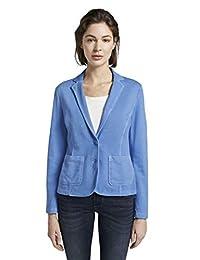 TOM TAILOR 女士西装外套 & 西装运动外套 带颜色洗涤 蓝色 M