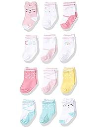 Onesies Brand 女婴 12 双水手袜