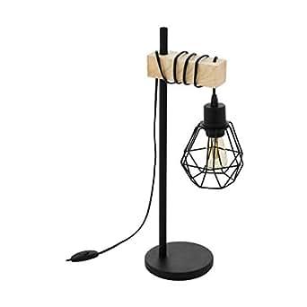 EGLO TOWNSHEND 5 吊灯,钢,60 W,黑色,棕色 黑色,棕色 43136
