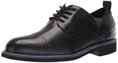Kenneth Cole REACTION Klay 男士系带牛津鞋 黑色 11.5 M US