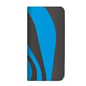 mitas iphone ケース253NB-0132-BG/201K 18_HONEY BEE (201K) ブルーグレー(ベルトなし)