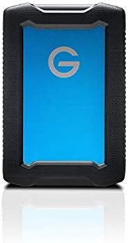 G-Tech 5TB Armoratd All-Terrain Drive, Black Blue