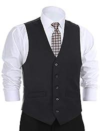 Chama 男式西装礼服背心腰衣常规版型正式背心 - 多种颜色可选