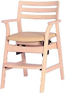 筑波产商 长椅 白色 W54D80.5H54 多椅 豆色 WH/BE