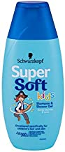 Schwarzkopf 超柔兒童男孩洗發水和淋浴凝膠 250 毫升 5 瓶裝