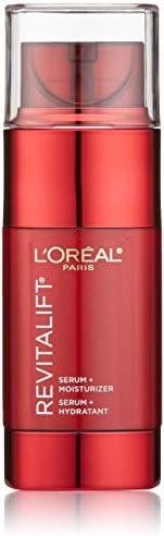 L'Oreal Paris 巴黎欧莱雅 Revitalift 三重动力深层活肤霜,面部保湿+含维生素C和Pro-Xylane祛除细纹和皱纹精华液,1.6液体盎司(48毫升)