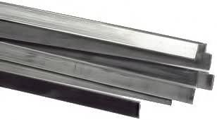 纯银长方形扁平线各种宽度 银色 2.00 X 0.50 MM wfs-82