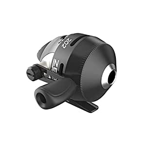 Zebco/Quantum,202淡水抛投式渔线轮,2.8:1齿轮速比,15英寸(约38.1厘米),右手,盒装