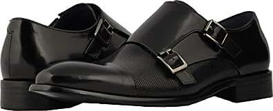 STACY ADAMS Jennings 男士一脚蹬休闲鞋 黑色 15 M US