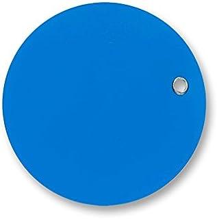 7.62cm Stong 乙烯基圆标签 蓝色