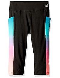 New Balance 女童运动七分裤