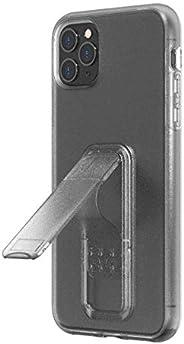 Wild Flag Eezl 手机壳 专为 iPhone 11 Pro Max(6.5 英寸)设计 - 超薄,坚固的 8 英尺防摔,纵向/横向支架,*指环抓握,兼容无线充电(美国保修)Eezl Case 透明