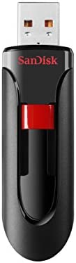 SanDisk Cruzer Glide CZ60 32GB USB 2.0 Flash Drive, Frustration-Free Packaging- SDCZ60-032G-AFFP