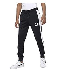 PUMA 彪马 男士 Iconic T7 Track 裤袖口长裤