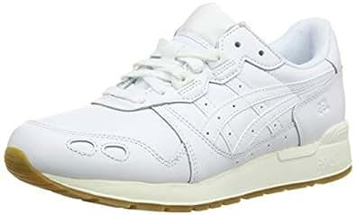 Asics 亚瑟士 Gel-Lyte 女士跑步鞋 Weiß (White/White 100) 37.5 EU